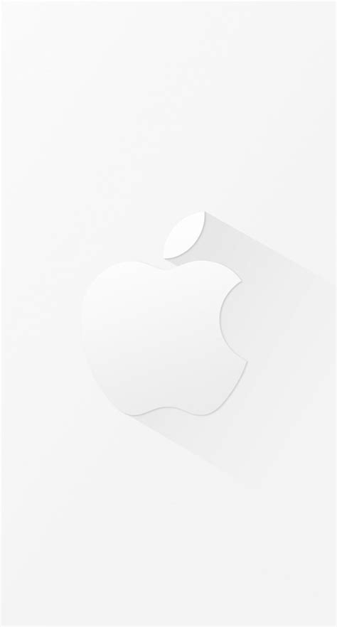 cool white apple logo wallpapersc iphones