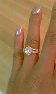 my engagement ring my wedding ring weddingbee photo gallery