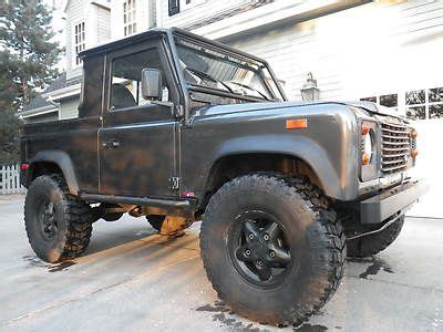 car engine manuals 1994 land rover defender engine control sell used 1994 defender 90 truck 4 8l motor over 80k invested one of a kind 4x4 rare in