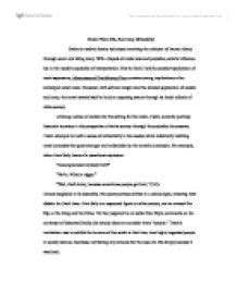 Examples Of Classification Essays Example Of Classification