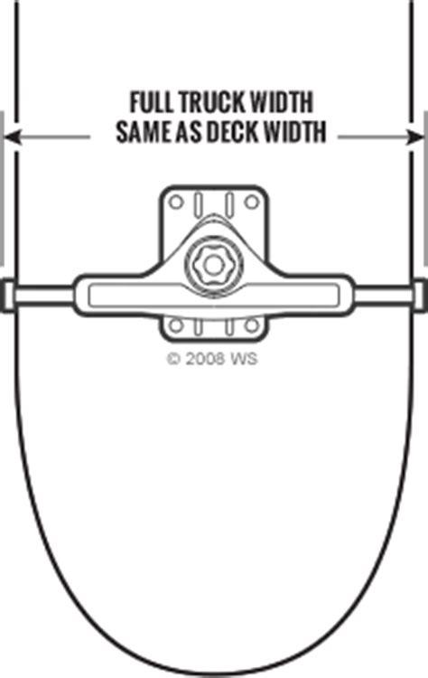 what size trucks for 825 deck skateboard trucks buying guide warehouse skateboards