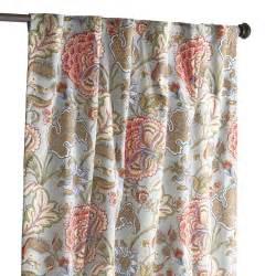 floral blue meadow curtain pier 1 imports