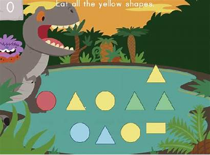 Education Educational Games Colors Dino Crunch Hungry