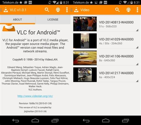 vlc for android vlc for android now available as a stable app ghacks