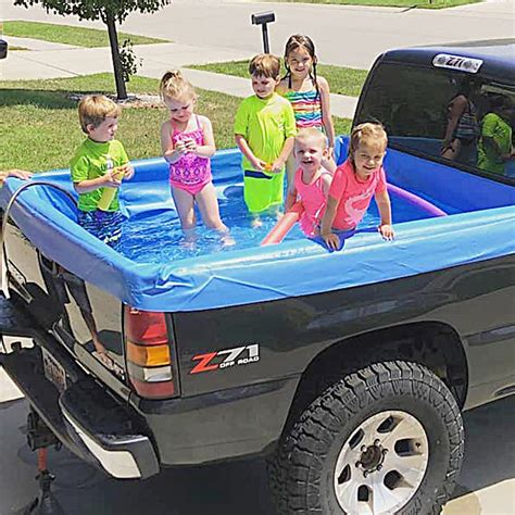 Truck Bed Pool Liner by Up Pool This Pool Liner Turns Your Truck