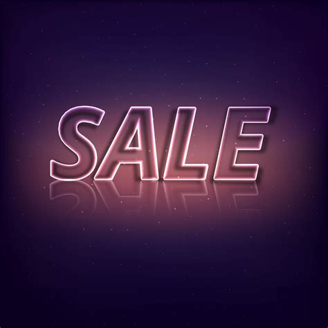 abstract shiny sale text background