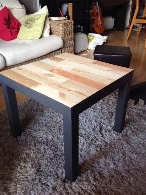 relooking table basse ikea lack avec palettes relooking