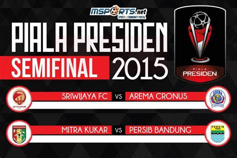 Ini Jadwal Lengkap Babak Semifinal Piala Presiden 2015