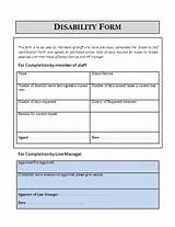 Images of Disability Insurance Claim Form
