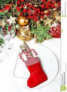 Table De Fete Decoration Noel : couvert de f te de table avec la d coration d 39 arbre de ~ Zukunftsfamilie.com Idées de Décoration