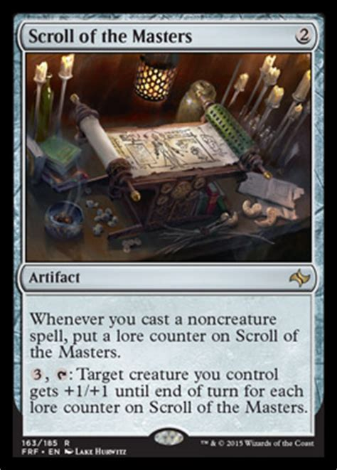 scroll   masters fate reforged visual spoiler