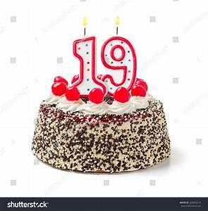Pics For > 19 Birthday Cake