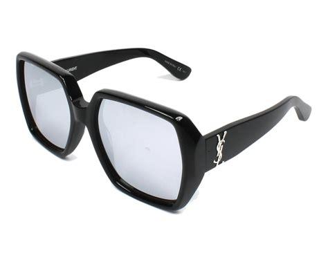 Yves Saint Laurent Sunglasses Slm-2 003 Black