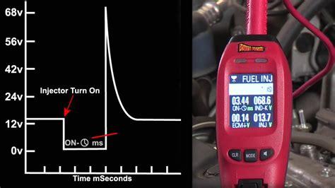 Power Probe Injector Mode Testing Fuel Injectors