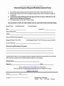 Employee Expense Reimbursement Form Free 9 Sample Request For Reimbursement Forms In Ms Word