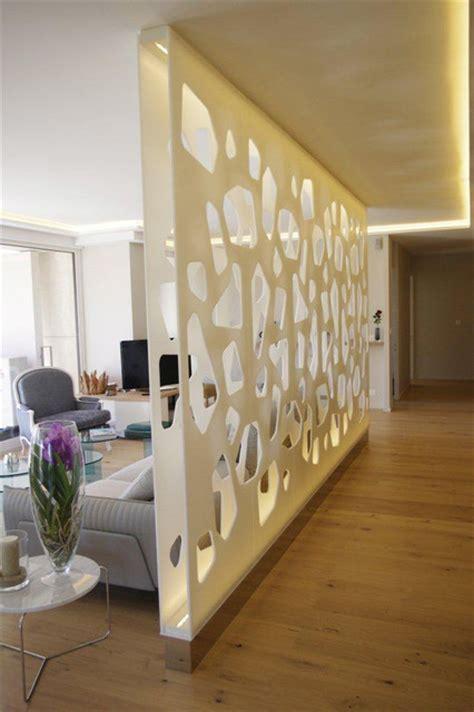 renover cuisine rustique en moderne cloison murale séparation en résine de synthèse moderne salle de séjour autres