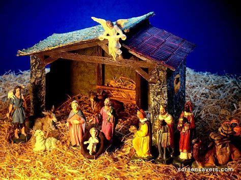 nativity scene wallpapers wallpaper cave