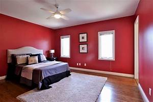 Red, Bedroom, Decorating, Ideas, For, Oriental, Home, Design