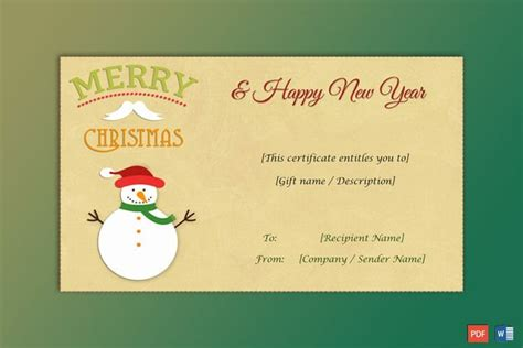 gift certificate entitles   audreybraun