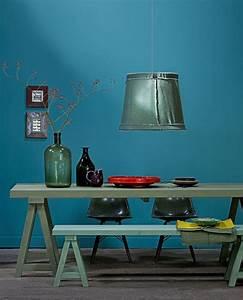 Bleu Canard Se Marie Avec Quelle Couleur : la couleur de l 39 ann e bleu paon ou bleu canard ~ Zukunftsfamilie.com Idées de Décoration