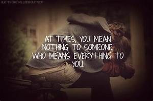 Meaning Nothing... Hurt Meaning Quotes
