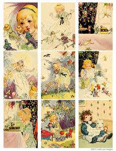 Free Vintage Printables Fairies