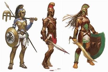 Theros Concept Character Greek Prescott Concepts Magic