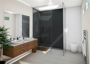 two, sided, shower