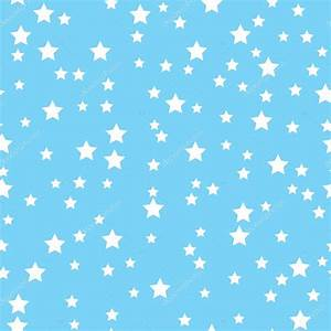 Seamless pattern with white stars on a blue background ...
