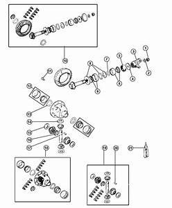 Jeep Wrangler Front Axle Diagram