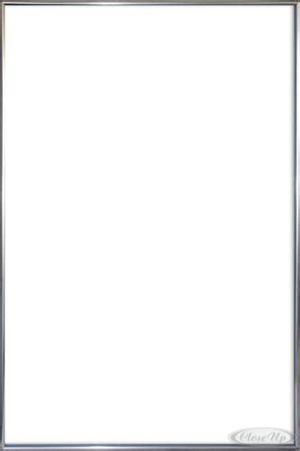 cadre pour poster en plastique argente grand format 61 x 91 5 cm cadres commandez d 232 s