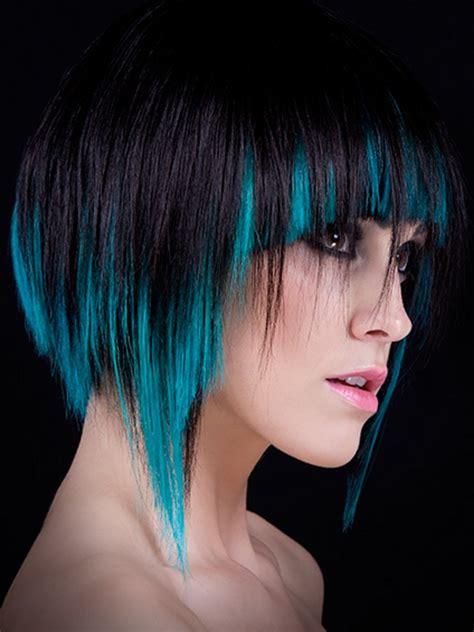 emo hair color ideas hairstyles  fashion