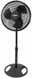 Lasko Adjustable Oscillating Stand Fan  16 Inch Blade  18