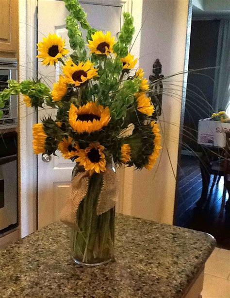 big blooms  short vases creates   modern