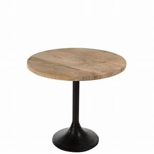 Table Ronde Pas Cher : table bois pied central achat vente pas cher ~ Melissatoandfro.com Idées de Décoration