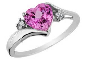 pink wedding rings shaped pink wedding rings miami the wedding specialists