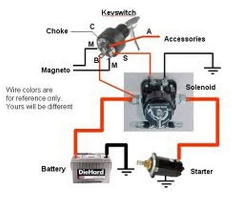images  boat starter switch diagram mercury