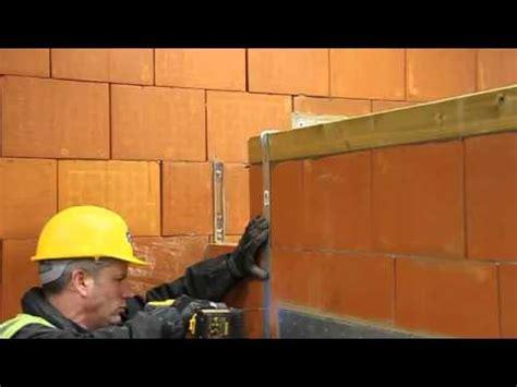 installation  wall plate  restraint straps