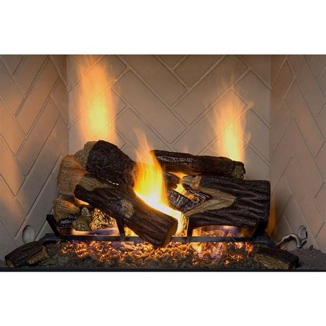 fireplace logs fireplaces  home depot