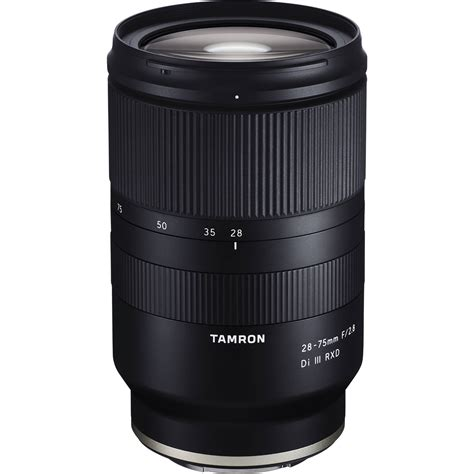 tamron 28 75mm f 2 8 di iii rxd lens for sony e a036 b h