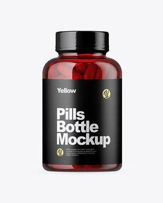 Free all free mockups packaging. Free PSD Mockup Clear Plastic Softgels Bottle Mockup ...