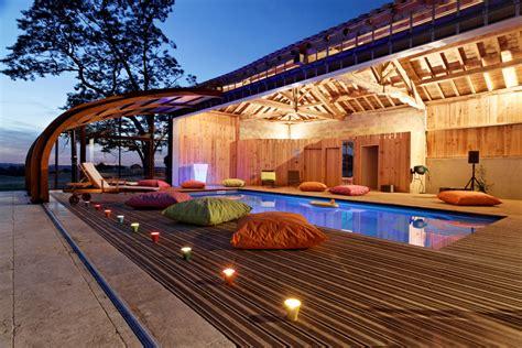 abri piscine mural en bois abrisud fabricant abri mural de piscine bois