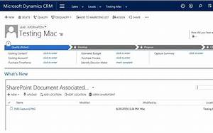 displaying an sharepoint document library in iframe in crm With documents in microsoft crm