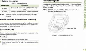 89ft6015 Wireless Rsm  Remote Speaker Mic  User Manual