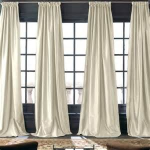 royal velvet 174 grandeur silk rod pocket back tab curtain
