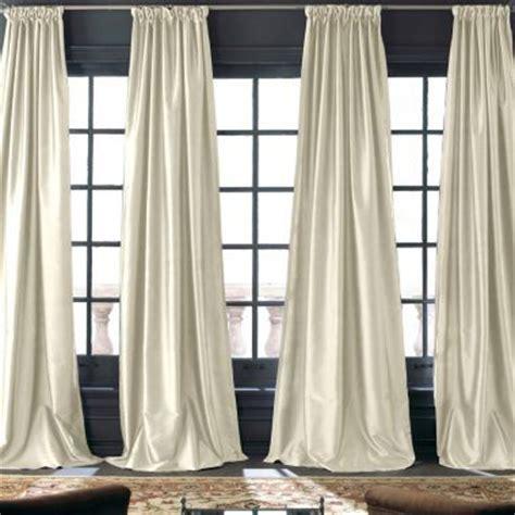 Jcp White Curtain Rods by Royal Velvet 174 Grandeur Silk Rod Pocket Back Tab Curtain