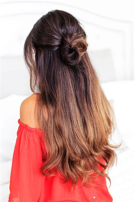 lazy hairstyles  long hair elle hairstyles