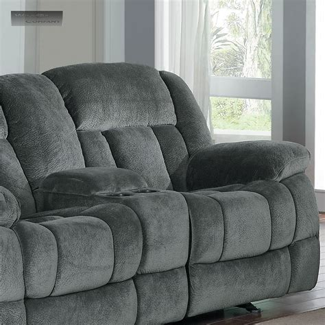 Loveseat Recliner by New Grey Rocker Glider Recliner Loveseat Lazy Sofa