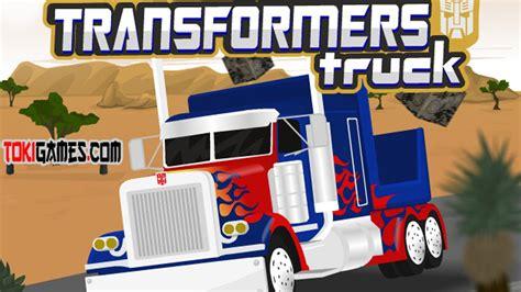 Transformer Car Racing Games For Kids