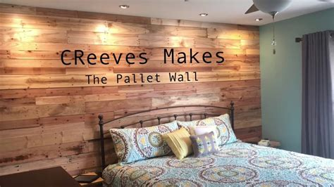 creeves   diy pallet wood wall ep youtube